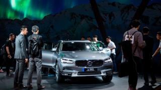 Volvo car, Shanghai Auto Show